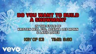 Gambar cover Do You Want To Build A Snowman? (Karaoke)