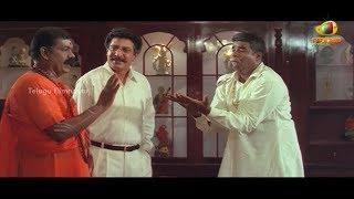 Snake charmer trying to help Ponnambalam & Nizhalgal Ravi | Sri Raja Rajeswari Scenes