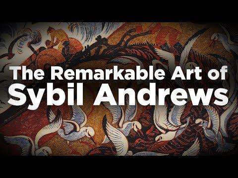 The Remarkable Art of Sybil Andrews