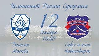 Смотреть видео Динамо (Москва) - Сибсельмаш (Новосибирск) онлайн