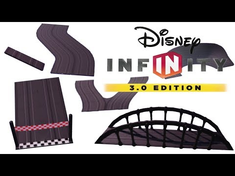 All Basic Race Track Pieces in Disney Infinity 3.0 |
