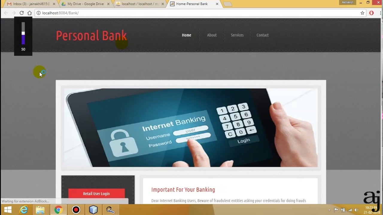 Honey Pot security system in Java   network security   Bank security    online banking   Net banking