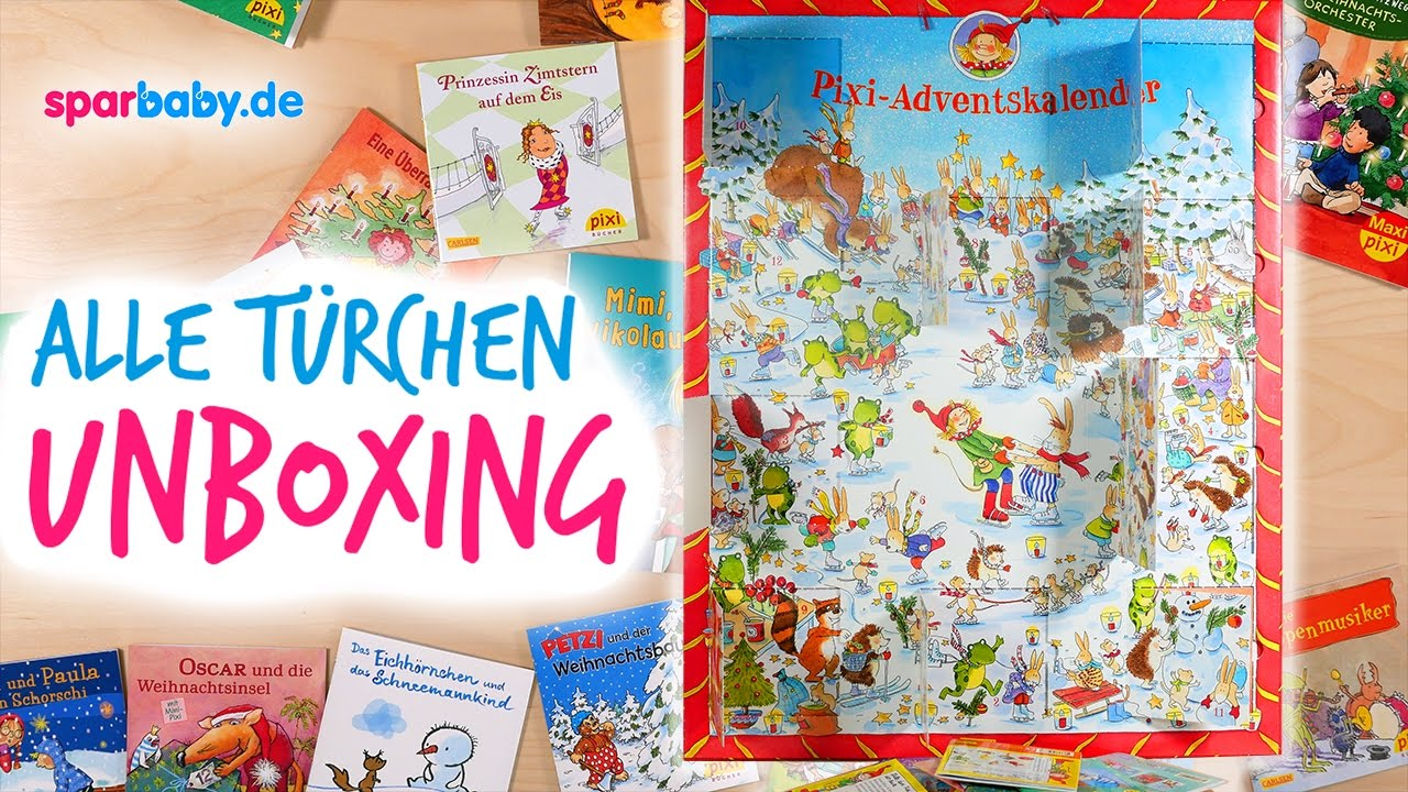 Pixi adventskalender 2016 unboxing alle 24 t rchen - Pixum adventskalender ...