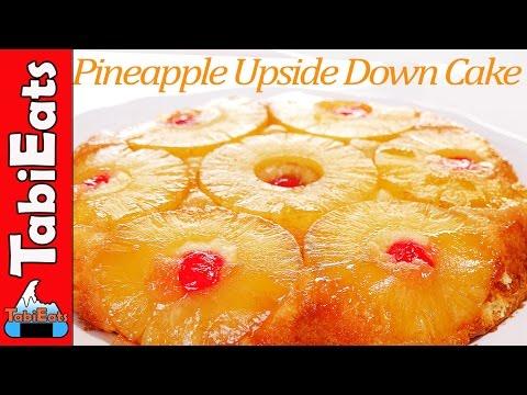 EASY Pineapple Upside Down Cake (RECIPE)