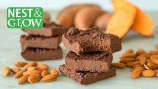 3-Ingredient Healthy Chocolate Brownies - Vegan + GF