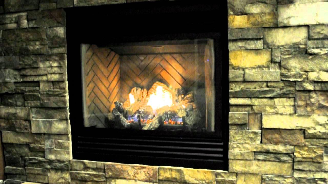 kngsman hbzdv 3624 gas fireplace youtube