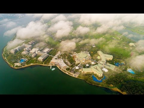 Stunning aerial footage of the Boao Forum host, Hainan Province