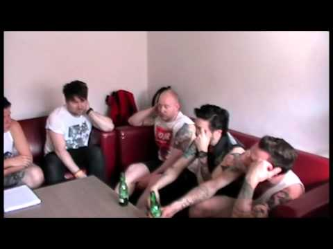 All About The Rock TV - Interview with Shadows Chasing Ghosts @ Rescue Rooms, Nottingham 16/07/13