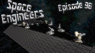 Let's Play Space Engineers - Episode 96: Airlock Scripting & Weapons Testing