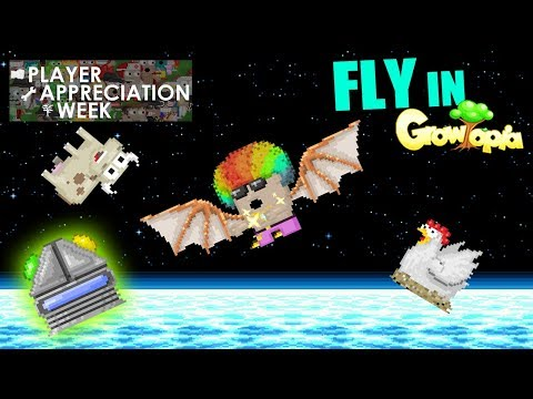 Fly in Growtopia! New Antigravity Generator Lets You FLY in Growtopia!!! [PAW]
