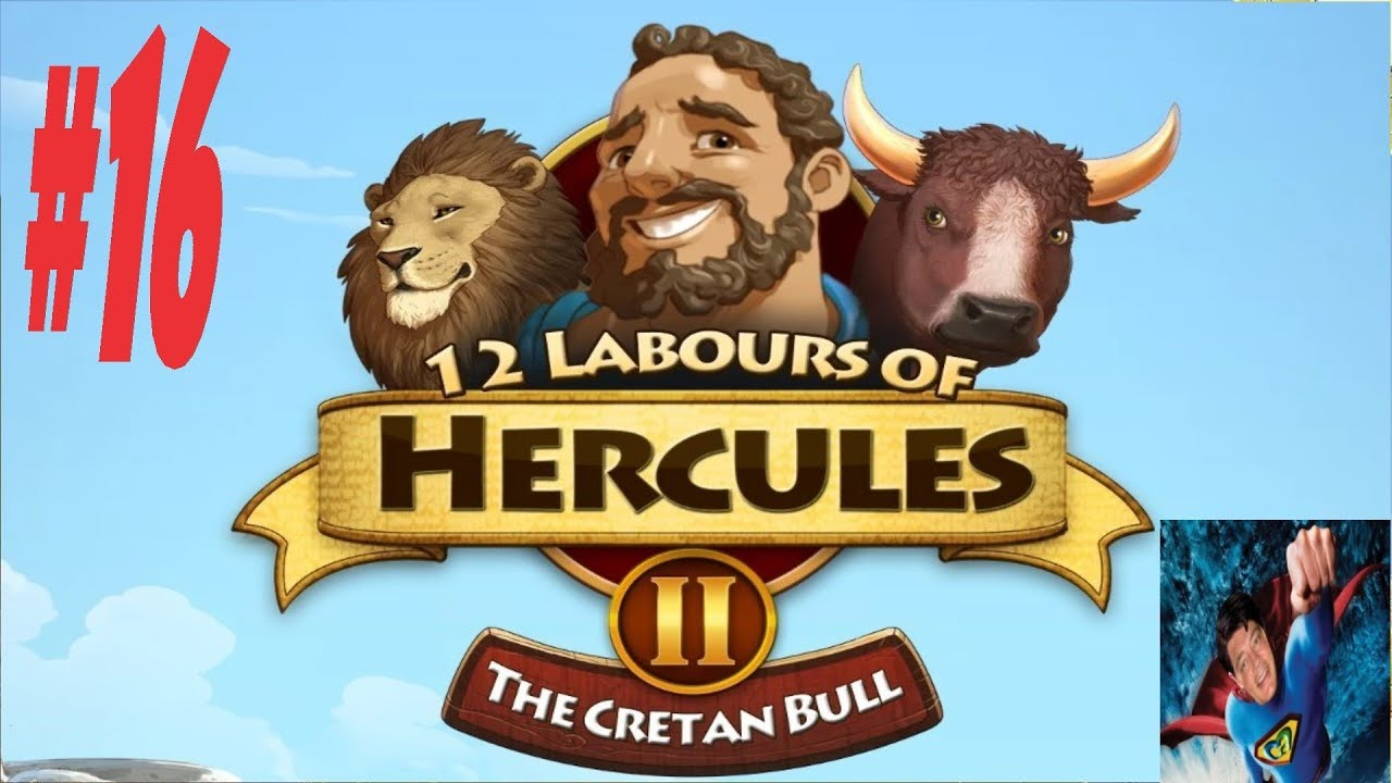12 Labours Of Hercules 2 Cretan Bull 16 Minotaur Thugs Youtube