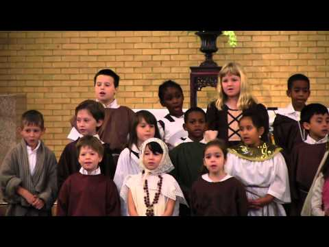 All Saints Day performance at Saint Paul the Apostle School