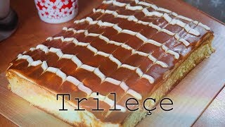 Trileçe tarifi | Торт Три молока | TRILECE | Turkish food | Juli_Food