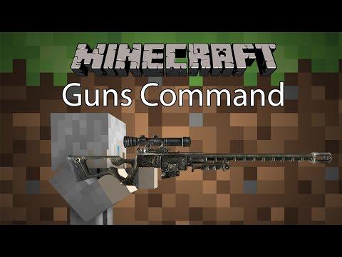 Minecraft Command รีวิว - คอมมานปืน | Guns Command [1.10.2]