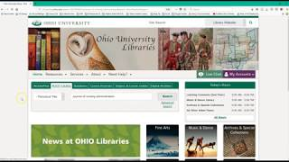Library 101 Nursing Video 4: Searching ALICE
