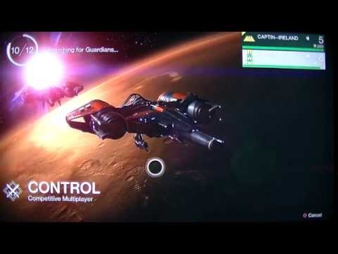 Destiny Ps4 Multi-player 1st try 3 games of Control (aka Domination)