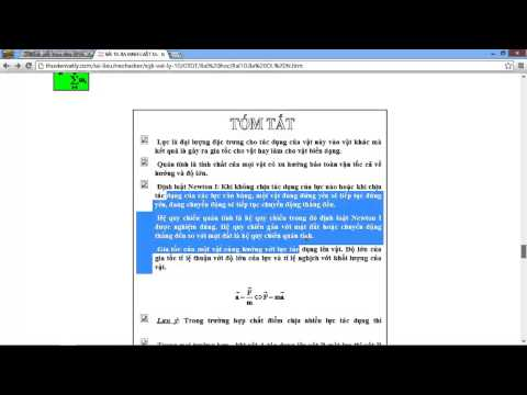 [VẬT LÝ 10] Chương 2. Bài 10 [RẤT HAY] Ba định luật Niu-tơn