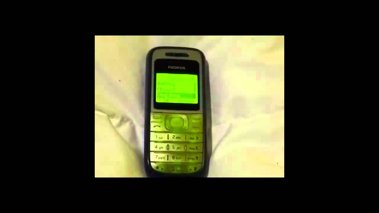 Nokia 1200 Ringtone - Ding Dong - YouTube