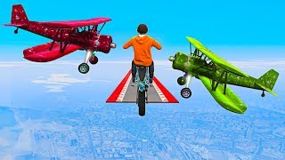 WORLD'S HARDEST PLANE DODGE ATTEMPT! (GTA 5 Funny Moments)