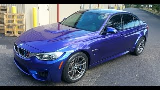 Bmw M3 - Blue/Purple Custom Mix - High Gloss