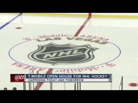 T-Mobile Arena offering sneak peek for hockey fans