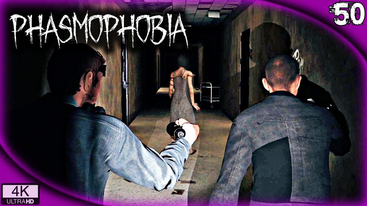 COMPLICACIONES EN EL ASILO | PHASMOPHOBIA Gameplay Español