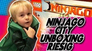 Ninjago City Unboxing RIESIG
