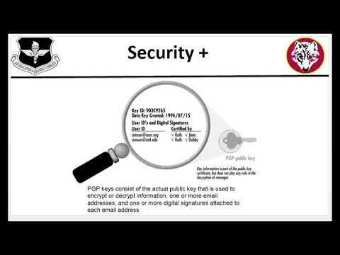 8c1. Cryptographic protocols