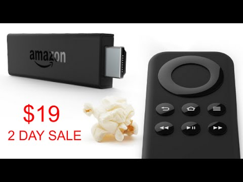 New Amazon Fire Tv Stick 2 Day Sale 19 Dlls Youtube