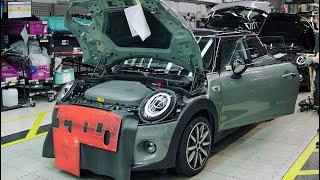 MINI Electric Production at MINI Plant Oxford