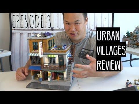 Urban Villages Set - A XINGBAO Brick Review 01013