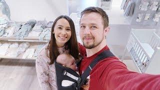 COMPRAS PARA O ENXOVAL DO BEBÊ | Vlog em família | Joyce Aurora 🤱🏻❤️