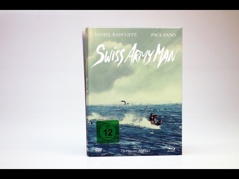 Download Unboxing: Swiss Army Man ( Mediabook + Blu-ray + DVD + Soundtrack )