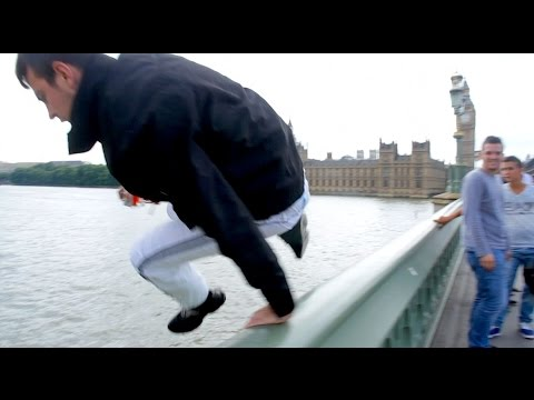London Bridge Suicide Parkour