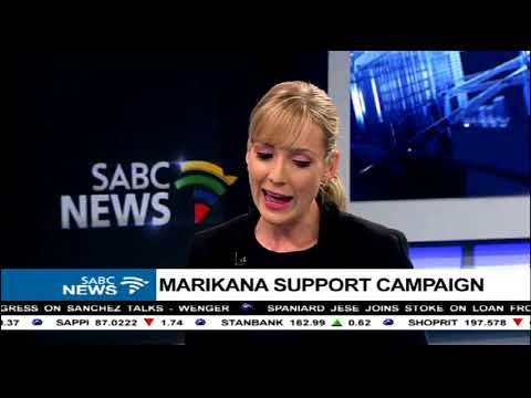 Prof.Peter Alexander on the Marikana support campaign