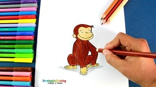 Cómo dibujar a Jorge El Curioso | How to draw Curious George