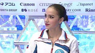 Алина Загитова Финал Гран При Интервью