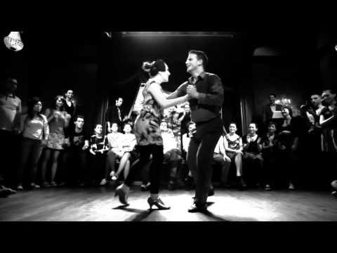 Thomas & Alice improvisation, Olivier Franc quintet, Comedy Club, Paris, 2012-10-28