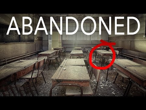 Inside ABANDONED High School! (HE ACTUALLY CLIMBED IT!!)