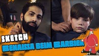 Benaissa beim Barbier