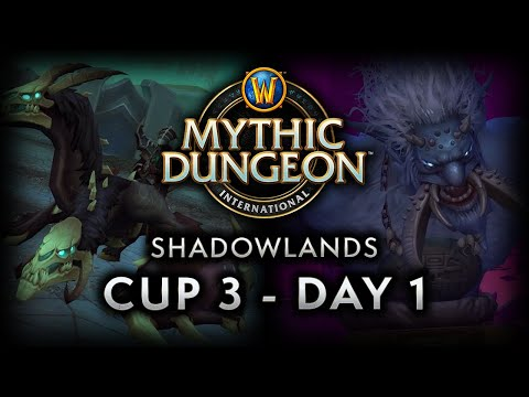 MDI Shadowlands Cup 3   Day 1 Full VOD