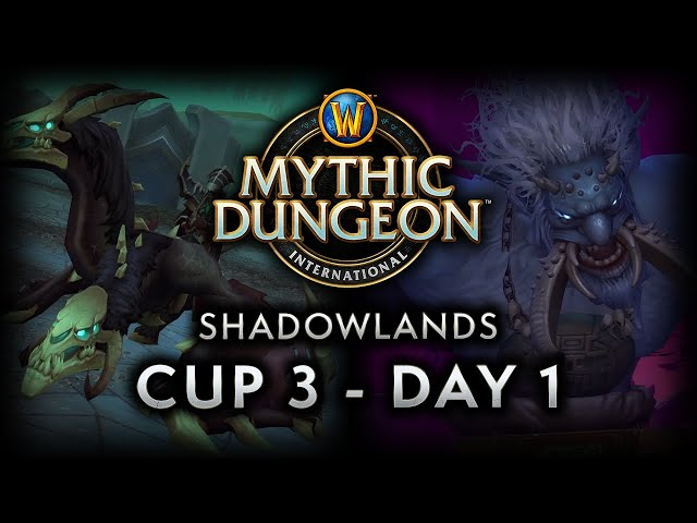 MDI Shadowlands Cup 3 | Day 1 Full VOD
