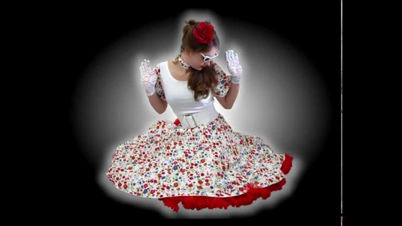 """Mode im Stil der """"Fünfziger Jahre"""" von Couture4dance / fifties fashion"""