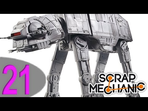Scrap Mechanic : #21 AT-AT - X-WING - LE BAMBOO [FR.HD.720p] poster