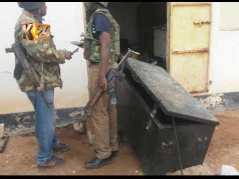 Unknown number of fire arms missing from Diff Police Station after Al-shabaab militia raid