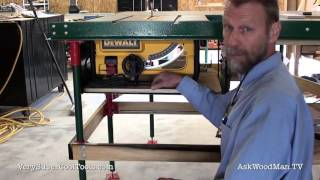 929. Benchtop Saw Table Upgrade  • Video 8