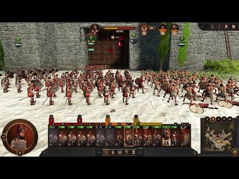 ACHILLES Defeated Sieging. Total War Saga Troy. |