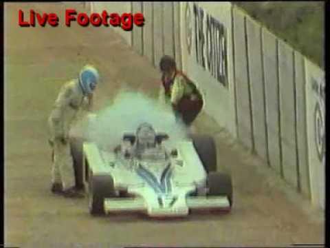 1977 Tom Pryce Crash Live Broadcast Tv Kyalami Circuit