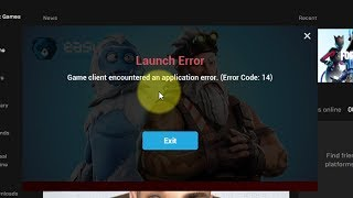 Fix  Fortnite Game client encountered an application error Error Code 14