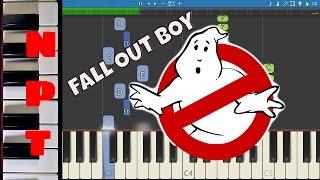 Fall Out Boy - Ghostbusters (I'm Not Afraid) Piano Tutorial ft. Missy Elliott